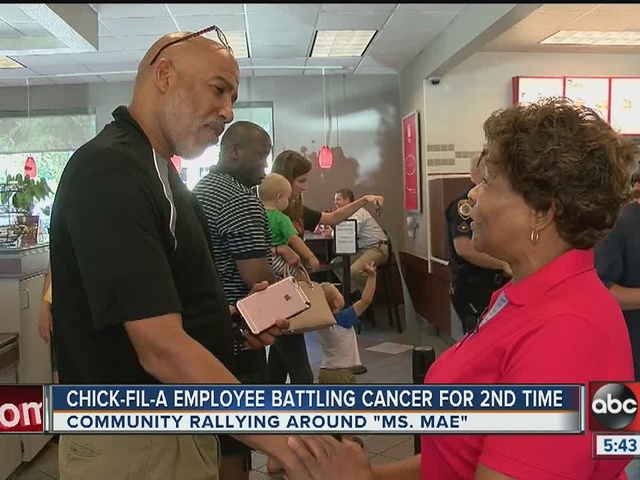 Chick-Fil-A rallies around employee battling cancer and debt