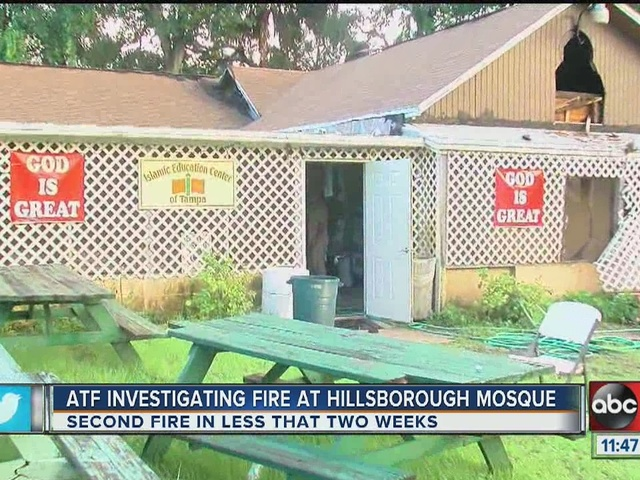 Islamic Education Center of Tampa catches fire twice in less than 2 weeks