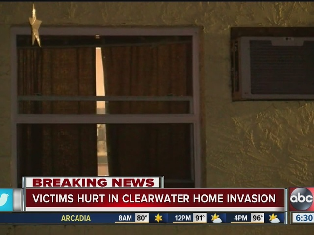 Victims hurt in Clearwater home invasion