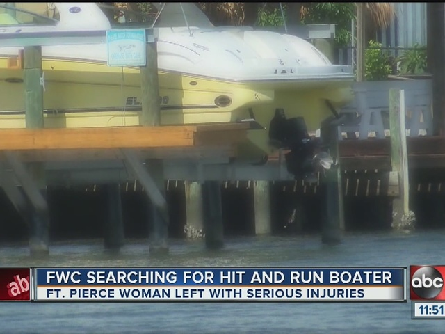 Women run over by boat, Investigators calling it a hit-and-run