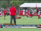 Tampa Bay Bucs open training camp to fans