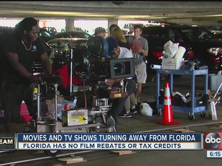 No subsidies mean FL film jobs going elsewhere