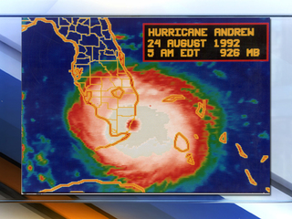 25th anniversary of Hurricane Andrew is Thursday
