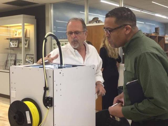 Digital Short: Manufacturing workers train on new 3D-Printers