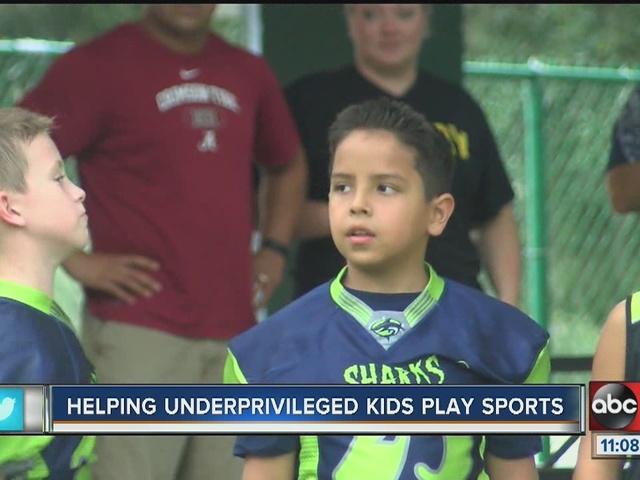 Football League for underprivilaged kids seeking donations