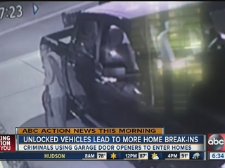 HCSO: Lock your car, avoid home break-in