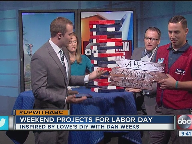 Getting a jump on Labor Day Weekend projects