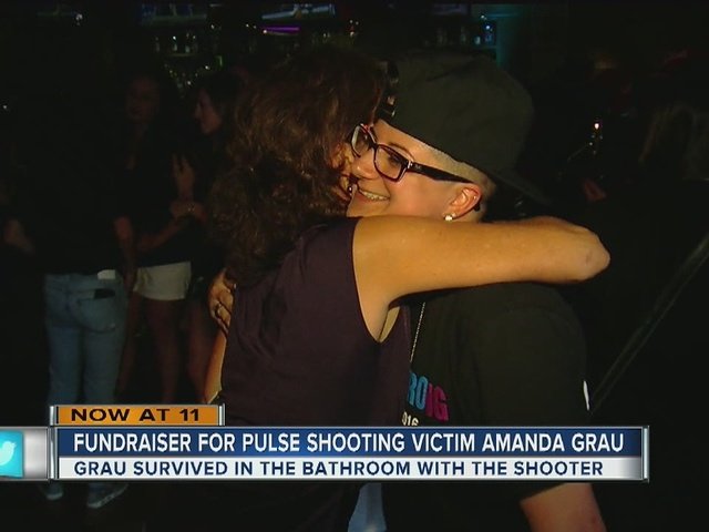 Shooting victim Amanda Grau fundraiser
