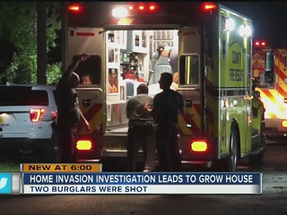 Drug house found after shooting
