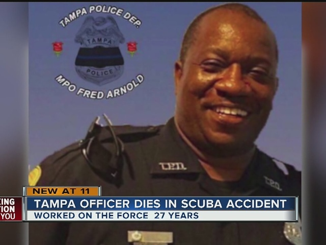 Tampa Police Officer Dies