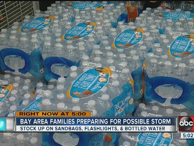 Bay area families preparing for possible storm