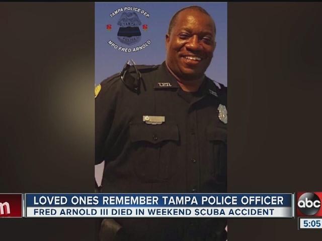 Loved ones remember Tampa Police Officer