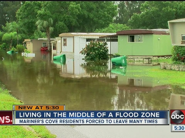 Mariner's Cove residents running out of options as bad weather approaches
