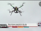 Drones in the sky: police prepare for new rules