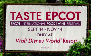 Epcot Food & Wine Festival kicks off in Sept.