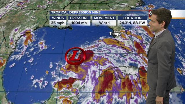 Tropical Storm to develop today, tracking toward SC coast
