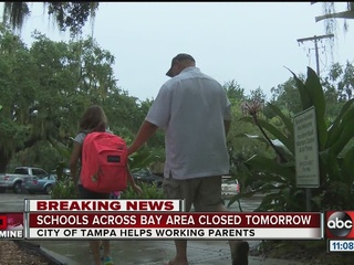 City of Tampa offers free daycare Thursday