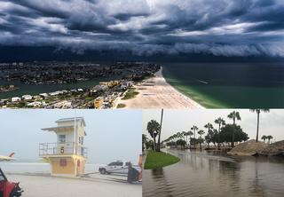 Photos, videos of Tropical Depression 9