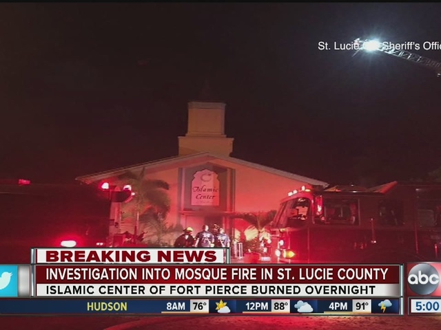 St. Lucie County Sheriff's Office investigating fire at ...