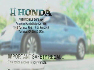 Owners can get on wait list for recall parts