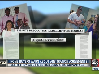 Homeowners: Arbitration favors companies