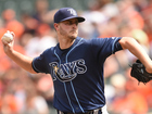 Odorizzi does his part in Rays 2-1 loss to O's
