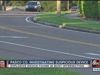 Suspicious device found close to homes