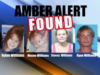 Kids safe, parents arrested after Amber Alert