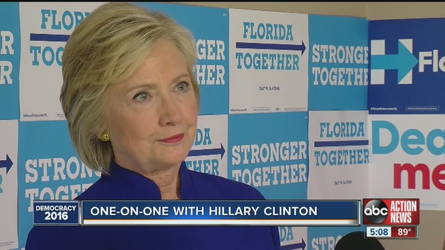 Local ABC Reporter Asks Hillary Clinton If She'll Take Neurocognitive Test