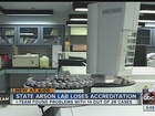 Florida's arson lab loses accreditation again