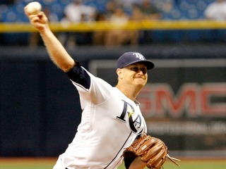 Cobb hit hard but elbow fine in Rays' 11-5 loss
