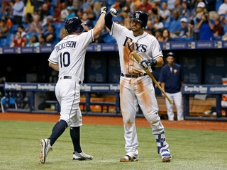 Dickerson homers as Rays shutout Yankees 2-0