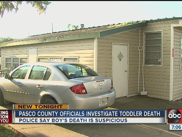 18-month-old child dies