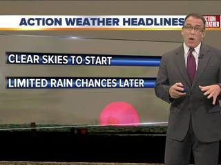 FORECAST: Hot and humid, isolated storms