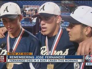 Fernandez won Fla. State Championship in 2011