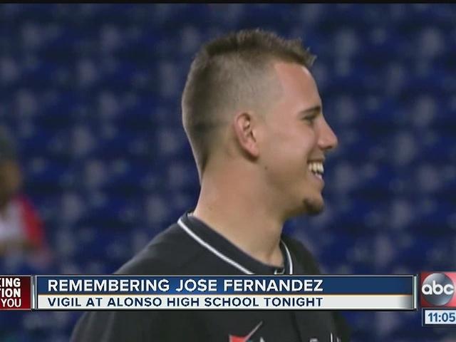 Remembering Jose Fernandez at Alonso High School