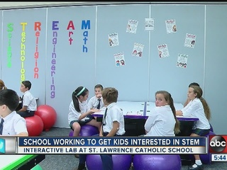 School offering new STEM lab