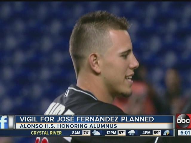 Vigil for Jose Fernandez planned