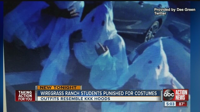 Minority Students Wear KKK Costumes To School