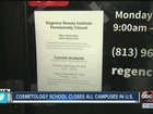 Cosmetology school closes all campuses in U.S.