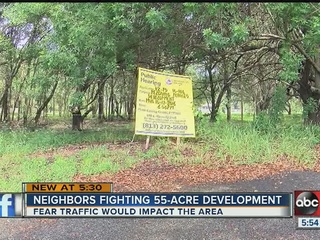 Neighbors against rezoning proposal