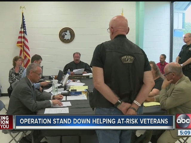 At-risk veterans find help at Operation Stand Down