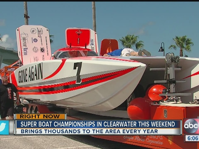 Clearwater Beach's SuperBoat National Championship Brings Thousands of…