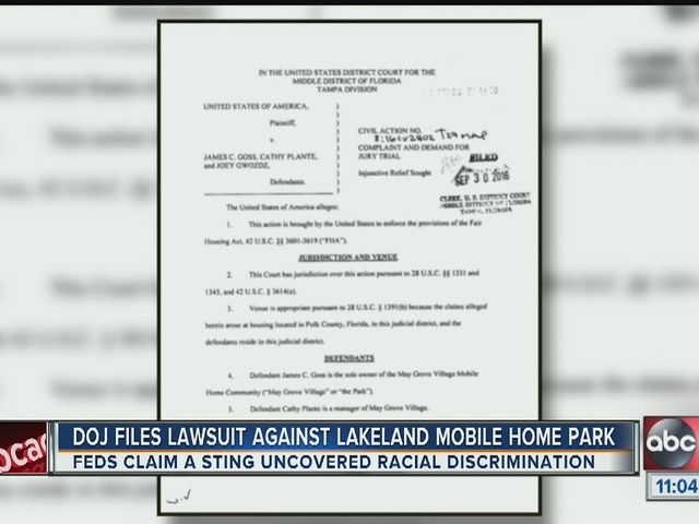 Lawsuit: Blacks discriminated against trying to buy property at Lakeland…