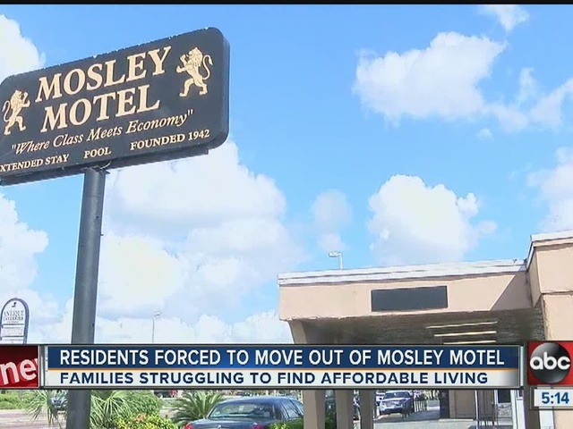 Move out day approaching for Mosley Motel residents