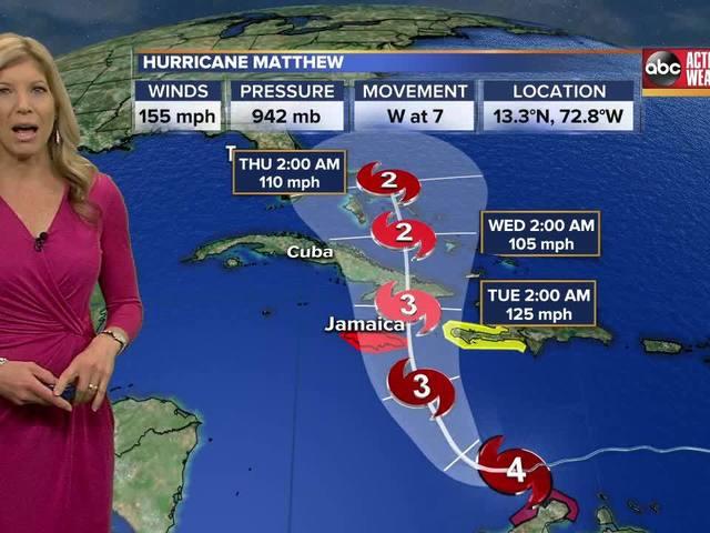 Saturday Tropics Forecast