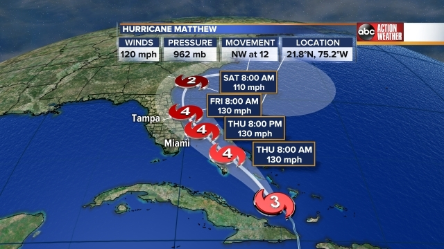 Georgia Evacuation Zones & Routes for Hurricane Matthew