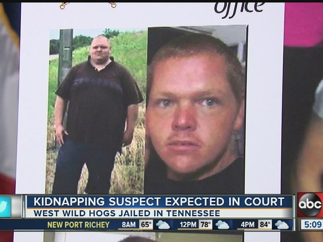 Kidnapping suspect expected in court