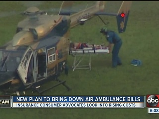 State seeks remedy to high air ambulance bills