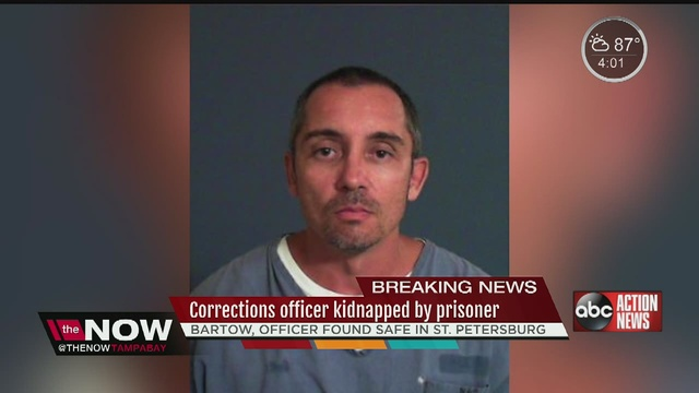 Inmate captured after kidnapping deputy in Florida